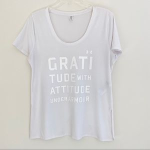 Under Armour GRATITUDE T-shirt womens small